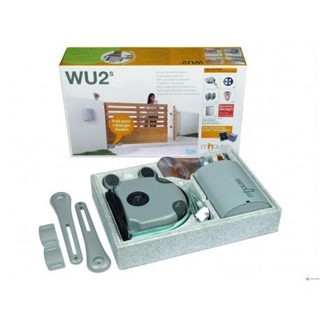 Kit de 2 Motores WU1SK, 2 Brazos WUA, 1 Central CL2S, 2 GTX4, 1 PH100 Y 1 FL100
