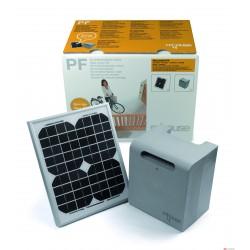 Kit de alimentación solar Mhouse para automatizaciones de puertas