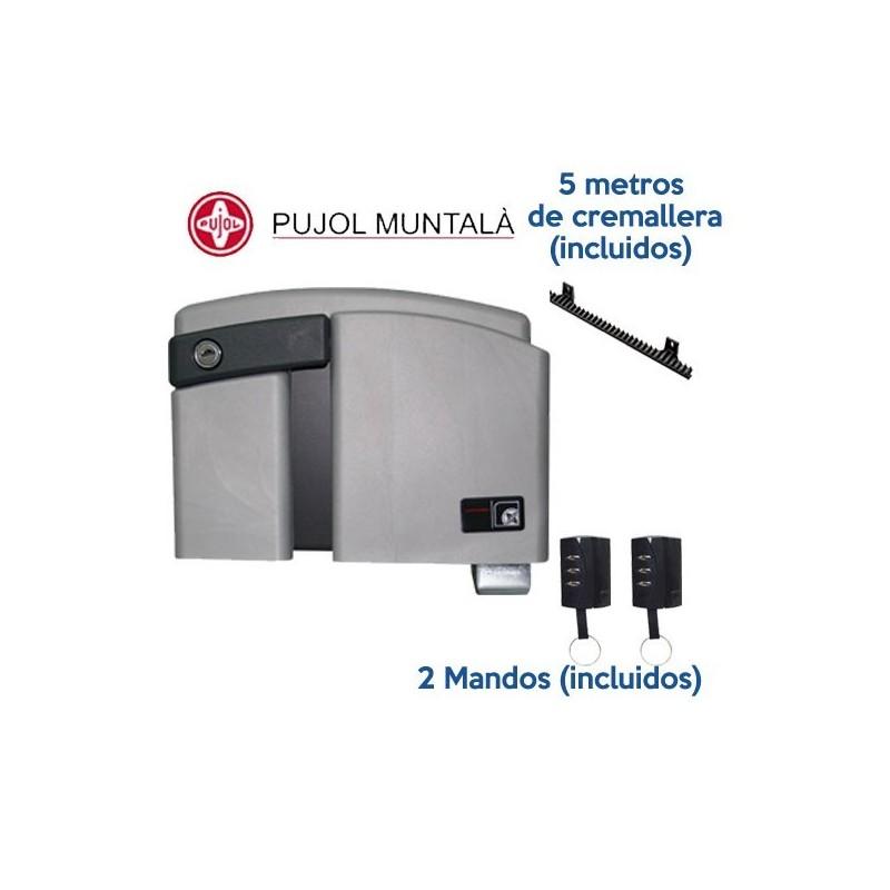 Motor corredera pujol kit marathon dc for Motor puerta automatica