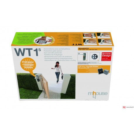 Kit de 1 Motor con central WT1SC Y 2 GTX4