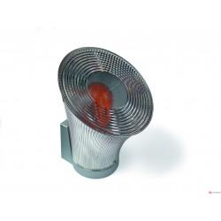 Luz intermitente orientable con antena integrada